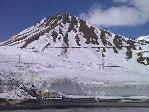 Col du Galibier in March